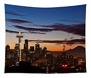 Seattle Sunrise Tapestry