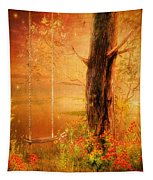 Secret Gardens Fantasy Tapestry