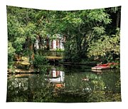 Secret Retreat - River Reflections Tapestry