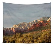 Sedona Sunshine Panorama Tapestry
