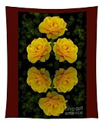 Seeing Yellow 1 Tapestry