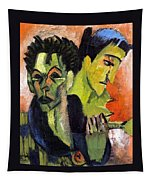 Self-portrait - Double Portrait Tapestry