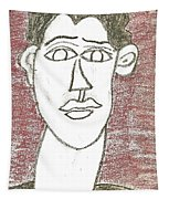 Self-portrait As A Young Man Tapestry