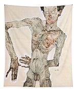 Self-portrait Tapestry