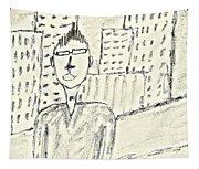 Self-portrait In Ny Tapestry