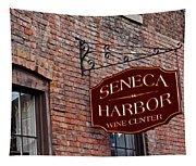 Seneca Harbor Wine Center Tapestry