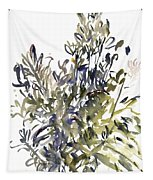 Senecio And Other Plants Tapestry