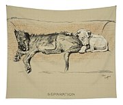 Separation, 1930, 1st Edition Tapestry