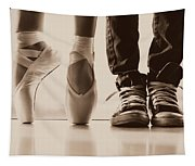 Sepia Duet Tapestry