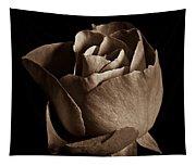 Sepia Rose Portrait 2 Tapestry