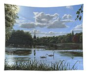 September Afternoon In Clumber Park Tapestry