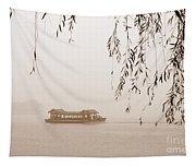 Serenity In Sepia Tapestry