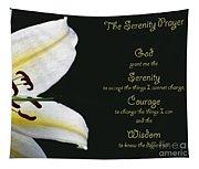 Serenity Prayer 3 Tapestry