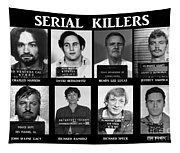 Serial Killers - Public Enemies Tapestry