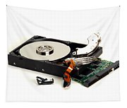 Seriously Crashed Hard Drive Tapestry