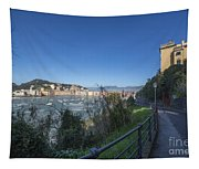 Sestri Levante And A Street Tapestry