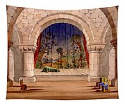 Set Design For Hamlet By William Tapestry