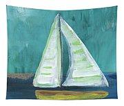 Set Free- Sailboat Painting Tapestry