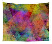 Set Sails On The Open Sea Abstract Tapestry