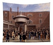 Settling Day At Tattersalls, Print Made Tapestry