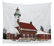 Seul Choix Point Lighthouse Tapestry