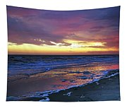 Seven Minutes On The Beach Tapestry