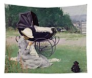 Sewing In The Sun, 1913 Tapestry