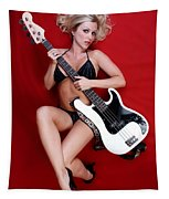 Sexy Guitar Tapestry