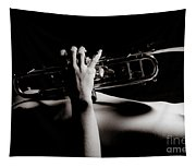 Sexy Trumpet Tapestry