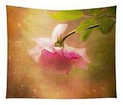 Shabby Chic Rose Print Tapestry