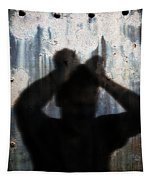 Shadow Of A Man Tapestry