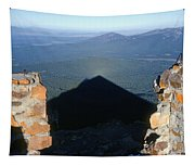 M-05715-shadow Of Mt. Mcloughlin Tapestry