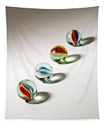 Shadowed Marbles Tapestry
