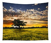 Shadows At Sunset Tapestry