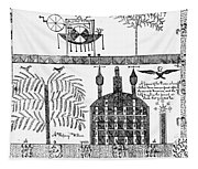 Shaker Drawing, 1845 Tapestry