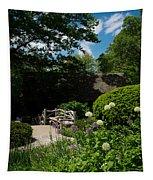 Shakespeares Garden Central Park Tapestry