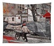 Shanghai Street Creation Tapestry