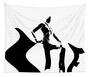 She Black Tapestry