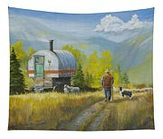 Sheep Camp Tapestry