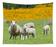 Sheep Grazing Tapestry