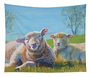 Sheep Lying Down Tapestry