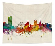 Sheffield England Skyline Tapestry