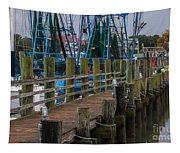 Shem Creek Wharf Tapestry