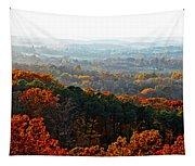 Shenandoah Valley Fall Panorama Tapestry