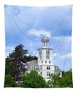 Shiloh Chapel Durham Maine Tapestry