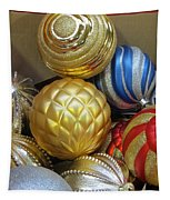 Shimmering Bauble Tapestry