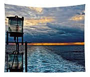 Ship Lamps Tapestry