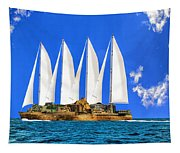 Ship Of State Tapestry