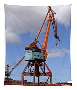 Shipping Industry Crane 06 Tapestry