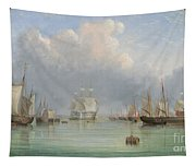 Ships Off Ryde Tapestry